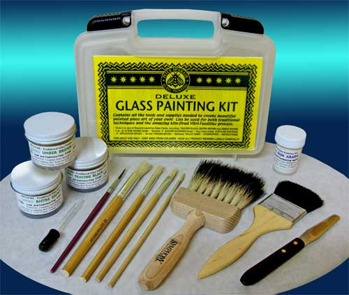 Peter McGrain: Deluxe Glass Painting Kit