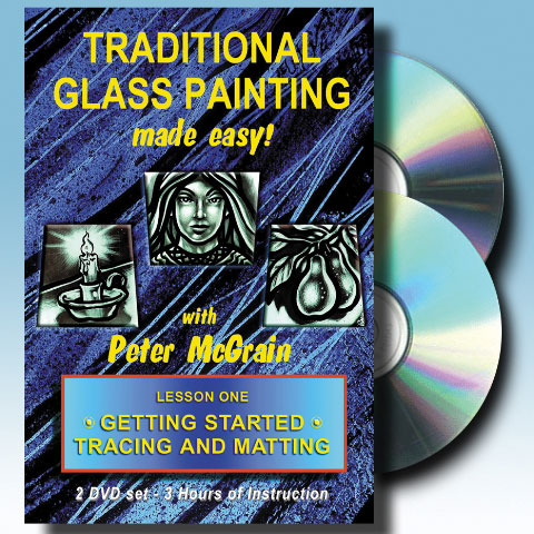 peter-mcgrain-instructional-video-dvd-traditional-painting-lesson-one-tracing-matting